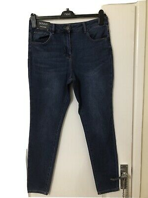 "Next Blue Skinny Jeans Size 12 Reg Leg 29"" New With Tags"