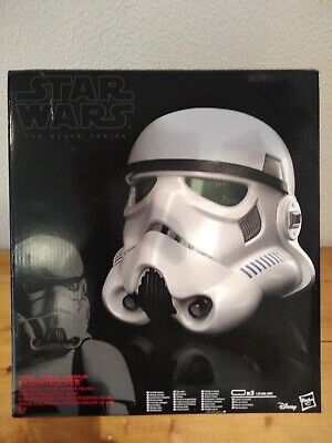 casque électronique Stormtrooper Star Wars BLACK SERIES helmet 1:1 cosplay
