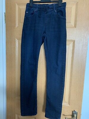 Gap Ultra Stretch Jogging Material Jeans  Dark Blue Jeans Age 13