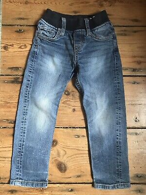 H&M Kid's Slim Fit Pull On Jeans Size EUR98/2-3 Years