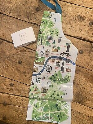 Harrods London Map Apron Child - One Size
