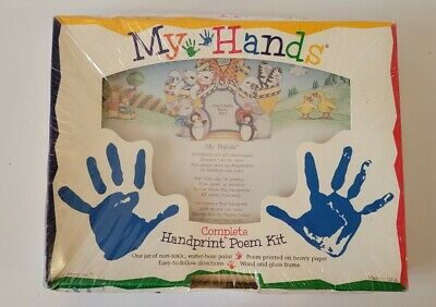 NEW / SEALED: My Hands - Complete Handprint Poem Kit by FMI - Noah's Ark