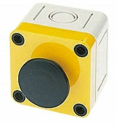 Modular Switch Body, IP65, Black, Wall Mount, Momentary for use with A01 Series