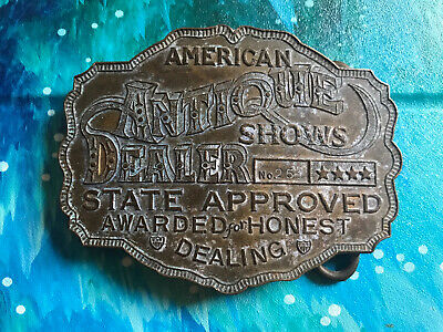 American AntiqueShows Belt Buckle