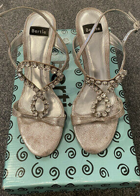 BERTIE ~ Silver Ladies Shoes ~ UK 4