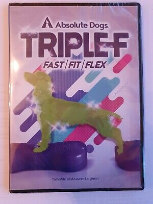 Absolute Dogs Triple F Fast Fit Flex DVD agility brand new and sealed