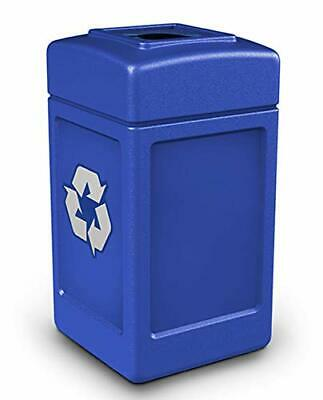 Commercial Zone Recycle42 Mixed Recycling Open Top - Blue 746304
