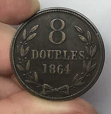 1864 Guernsey 8 Doubles