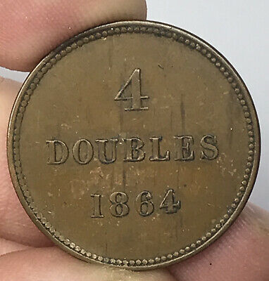 1864 Guernsey 4 Doubles