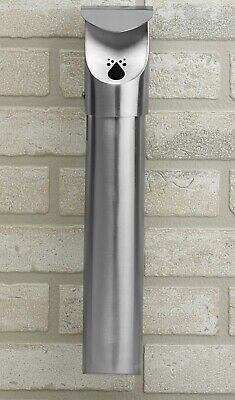 Staineless Steel Leafview Wall Mounted Cigarette Butt Receptable