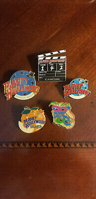 Planet Hollywood Lot of 5 Pins