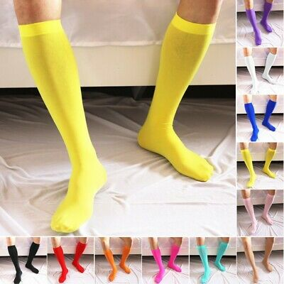 Men's Socks Soccer Socks Ultra-Thin Stockings Fashion Breathable Solid
