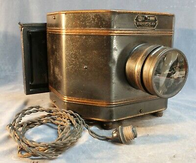 Radioptician No 431 opaque Projector H.C White Co. Earlier Model Patents Pending