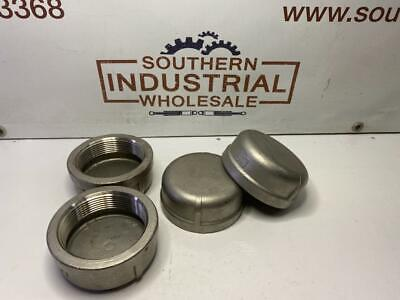 "SS304 3"" NPT Pipe Thread Fitting Stainless Steel Class #150 Cap"