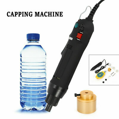 Hand-held Electric Bottle Capping Machine Sealing Machine Adjustable Clutch 80W