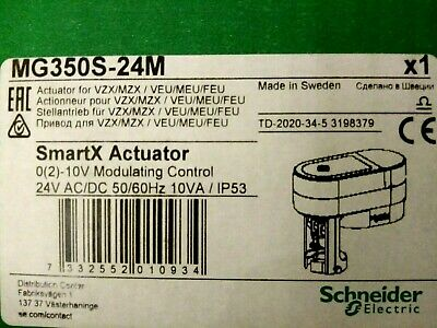 Schneider MG350S - 24M   smartX actuator replaces Satchwell AVUE 4304  AVUE 5304
