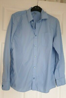 Great Condition Marks And Spencer's Unisex School Shirt Age 14-15 Yrs