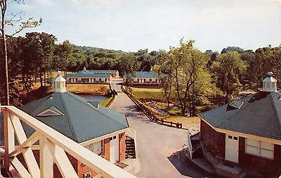 Croton on The Hudson Ny Watergate Motor Hotel Albany Post Office Route Postcard