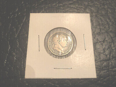 1817 Great Britain Silver Six Pence coin