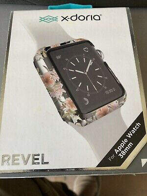 NEW Revel Protective Cover for Apple Watch38mm - Clear Floral