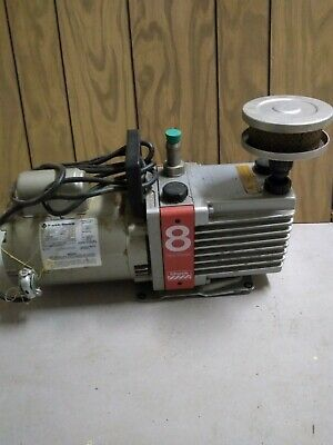 Edwards E2M8 Rotary Pump w 1 Franklin Motor, 1 Kit, 5 Gauges, Details below