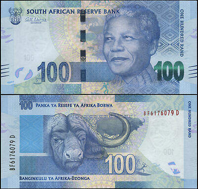 South Africa 100 Rand. ND (2012) UNC. Banknote Cat# P.136a