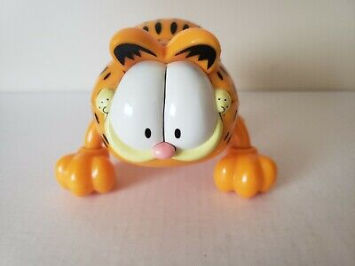 Vintage Garfield Hand Held Massager Battery Operated Paws Rival Co Plastic
