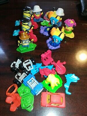 KINDER SURPRISE EGG TOYS Minions Rise of Gru Lot