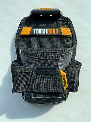 TOUGHBUILT electricians tool pouch new With Belt Connector