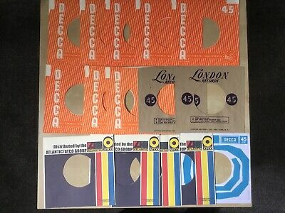 15 x 7 inch Repro Record Sleeves, THE ROLLING STONES, Decca, USA London, LOT 4