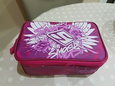 SMASH insulated lunch bag (pink pattern)