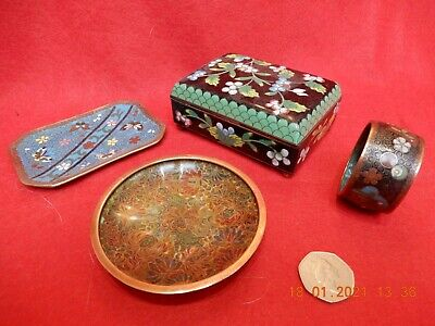 Chinese cloisonné plate/box/ ring/plate