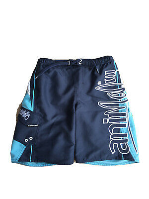 Boys Animal Blue Swimming Trunks, Size BS- Fit Young Teenager, Great Condition