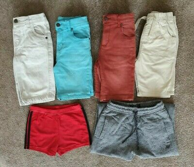 Bundle Of Boys Shorts Age 5 Denim Trunks Swimming Jogging Bottoms Next Summer