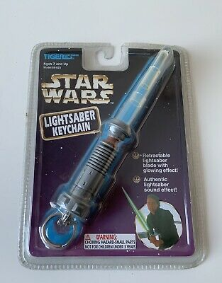 Tiger Electronics Inc Star Wars Lightsaber Keychain 1997 RARE Unopened