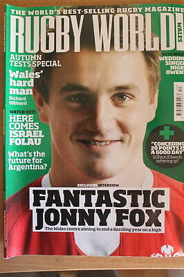 rugby world wales december 2013