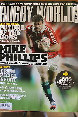 rugby world wales august 2013