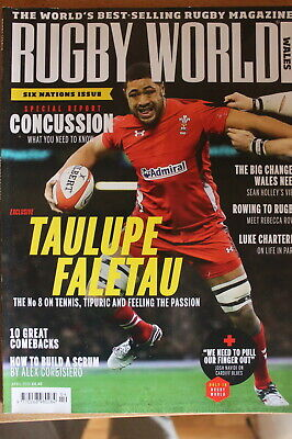 rugby world wales april 2015