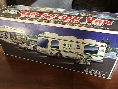 Hess Truck 1998 - Recreation Van With Dune Buggy And Motorcycle - New!