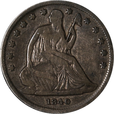 1840-P Seated Half Dollar Great Deals From The Executive Coin Company