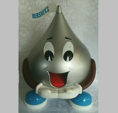 Vintage Hershey's Kiss Dispenser Chocolate Candy Plastic Collectible 1995 beawen