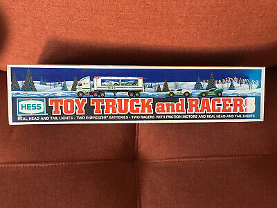 BRAND NEW 1997 HESS Toy Truck and Racers