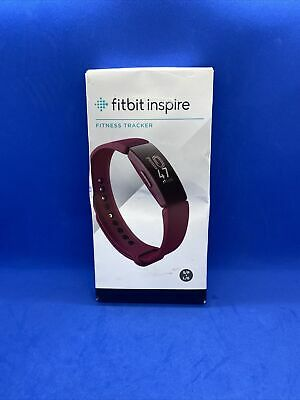 Fitbit Inspire FB412BYBY Fitness Tracker Wristband Sangria