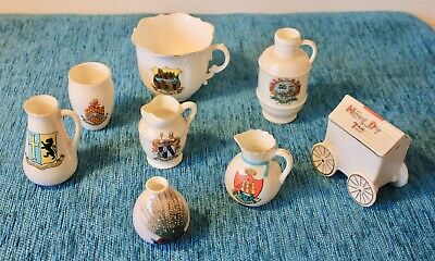 SHELLEY WILLOW ART CRESTED WARE CHINA PORCELAIN GOSS ARCADIAN 18 STYLES
