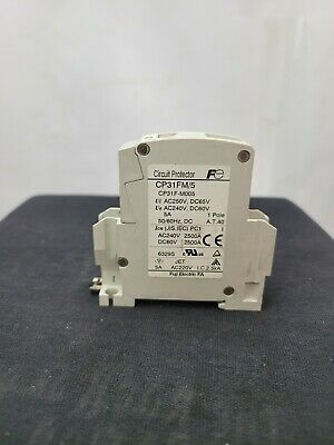 Details about  /Fuji Electric CP31FS//5D CP31F-S005 Circuit Protector 5A 1P