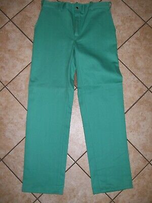 NWT Westex Endura Mens Flame Resistant Work Wear Pants Olive Green Size 36 x 31