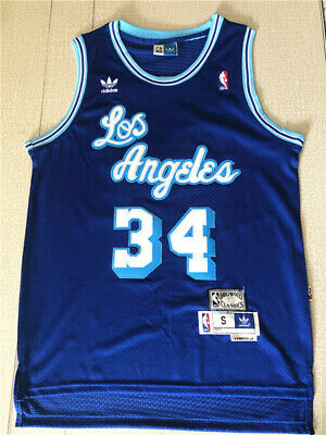 RETRO SHAQUILLE O'NEAL #34 Los Angeles Lakers Swingman Jersey ...