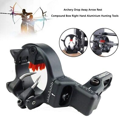 Archery Drop Fall Away Arrow Rest Adjustable Compound Bow Right Hand Shooting