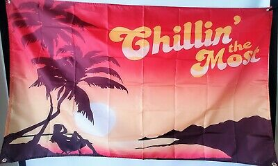 Chilling The Most Kid Rock 3 x 5 Feet Flag Banner College Dorm