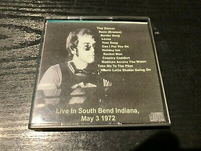 Elton John - Live in South Bend Indiana, May 1972 - Mini Disc
